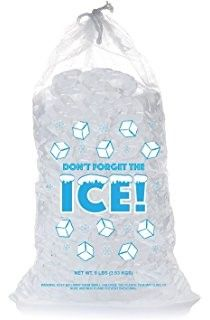 Custom Plastic Bags For Ice